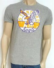 American Eagle Outfitters AEO No 7 Mens Gray Heather Vintage Fit T-Shirt NEW NWT