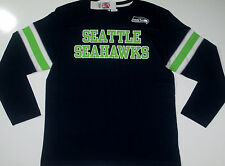 Seattle Seahawks End of the Line IV Long Sleeve Shirt NFL Jersey