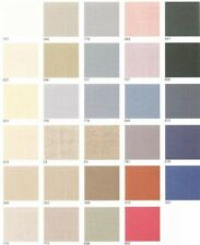 "CROSS STITCH LINEN FABRICS"" ASSORTED"" COLORS AND SIZES! NEW CONDITION!"