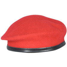 BRITISH ARMY ROYAL MILITARY POLICE RMP SILK LINED SMALL CROWN OFFICERS BERET