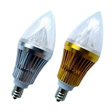10x E12 Base 6W 8W 10W 12W 15W Sharp High Power LED Chandelier Candle Light Bulb