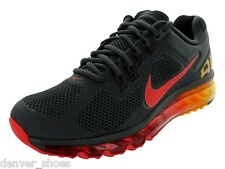 Nike Air Max + 2013 Mens Running Shoes NEW Charcoal Chilling Red 554886 068 2014