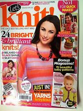 Let's Knit Magazine - Various Issues, See Listing for Details- Free Postage