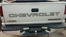 Chevrolet  S-10 Chevy S10 Tailgate Decal / Sticker +Your choice of Color