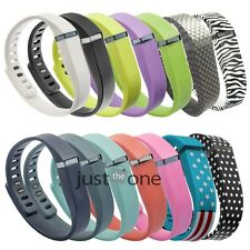 Candy Color Replacement Wrist Band w/ Clasp for Fitbit Flex Bracelet(No Tracker)