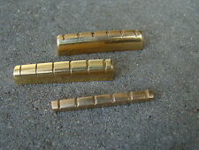 (1) Guitar brass nut for les paul and stratocaster telecaster brand new
