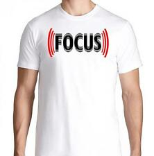 FOCUS GYM FITNESS WORKOUT YOGA RUNNING DETERMINED DIET TRAINING LIFTING T SHIRT