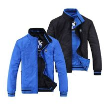 New Men's Winter Fashion Sports Wear Jackets With B M - W logo