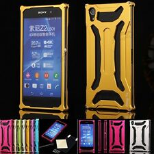 Executive Gun Metal Designer Aluminium Bumper Case Cove For Sony Experia Z2