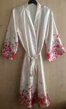 LADIES SATIN DRESSING GOWN/ROBE IN UK SIZES 8/10, 12/14, 14/16