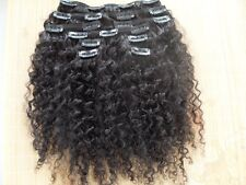 fashion clips in human hair extensions hair weft virgin hair product