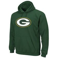 NFL Green Bay Packers Signature Logo Green Pullover Hoodie Jacket Jersey