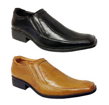 MENS SMART OFFICE WEDDING SHOES DRESS WORK CASUAL PARTY Boys UK 5 Shoes LR02-2