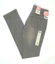$36 Skinny Stretch Jeans (GRAY) Juniors sz 0-3-5-7-11 NWT