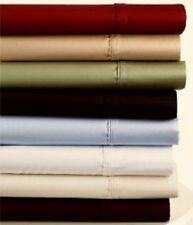 1000 TC NEW PREMIUM Bedroom Sheet SET  100% ORGANIC EGYPTIAN COTTON  SOLID
