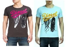 New Diesel Men's T Shirt T- FOXXYT  T-Shirt Available In 2 Colours and All Sizes