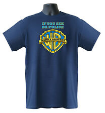 If You See Da Police,Warn A Brother Hip Hop Music Men,Women Ladies T-Shirt S-XXL