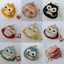 Women's Cute 3D Owl Purse Change Coin Bags Wallets Key Makeup Case Clutch