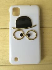 Cute Hard Case Cover Skin with Hat Glasses for iPhone LG Lenovo ZTE Cell Phone