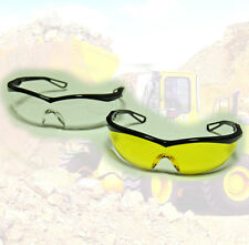 COMBAT SAFETY SHOOTING GLASSES POLYCARBONATE WRAP AROUND PROTECTIVE NEW