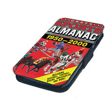 Sports Almanac Future Printed Faux Leather Flip Phone Cover Case