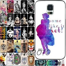 New Various Beauty Monroe Animals Pattern Case Cover For Samsung Galaxy S3 S4 S5