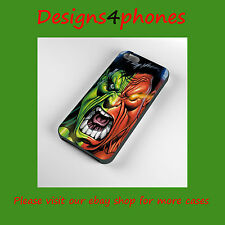 THE HULK PHONE  CASE  IPHONE 4 4S & 5 SAMSUNG GALAXY S3 S4 S5 MARVEL RETRO