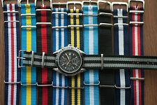 20mm Military Nylon Canvas Wrist Watch Band Straps Fits Timex Weekender