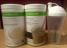 NEW HERBALIFE FORMULA 1 + PROTEIN DRINK MIX  & SHAKER - FREE FEDEX SHIPPING