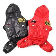 Puppy Dog Waterproof Winter Clothes Hoodie Parka Pet Down Coat Thick Jumpsuit