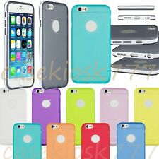 for iphone 6 silicone gel rubber shockproof sides hybrid case skin 4.7 inch