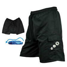 Men Cycling Mountain Bike Bicycle Leisure Shorts Half Pants 3D Padded Underwear