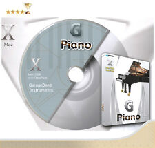 Piano Instruments in Apple Garageband, Reason Refill or Logic Pro EXS24 Formats