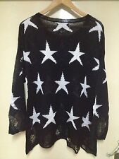 NEW Details *Wildfox* Couture White Label Seeing Stars Lennon Sweater TOP