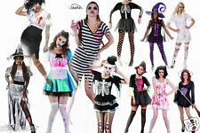 Ladies Halloween Costume Zombie Witch Fancy Dress Shrug  Costumes Uk Size 8-16