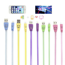 Colorful 8Pin LED Light USB Data Sync Charging Cable Cord For iPhone5 5C 5S