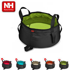 Naturehike Outdoor Camping Nylon Folding Basin Washbasin Wash Bucket 8.5L 80g