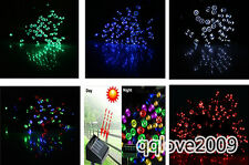 100 Solar LED Fairy Light String Christmas Party Wedding Garden yard Decor Xmas