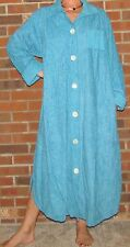 """Robe Chenille Blue/Green Xl-3XL """"Made in USA"""""""