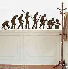 Evolution Computer  wall decal sticker living room stickers mural