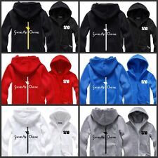 Anime Sword Art Online SAO Printed Men Hooded Loose Fleece Hoodie Hoody Sweater