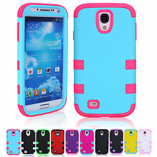 Stylish Cute 3-in-1 Shakerproof Phone Case Cover For Samsung Galaxy S4 i9500 NEW