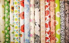 Flowers Leaves Floral Tablecloth Wipe Clean Oilcloth Vinyl PVC 140 x 200cm