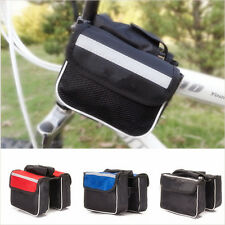 XIUS New Bicycle Bike Cycling Stylish Sport Frame Front Tube Double Side Bag