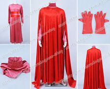 Star Wars Cosplay Red Royal Guard Cloak Dress Costume Wonderful For Parties Cool