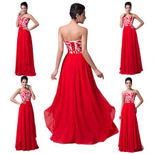Fashion New LADY Long Prom Gown Wedding Evening Formal Party Cocktail Prom Dress