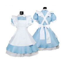 Alice in Wonderland Cosplay Girl Lolita French Maid Costume Sexy Dress Headband