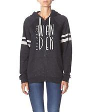 Neu Billabong Frauen - Zip Hoodie The Day After - Schwarz - Baumwolle