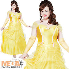 Belle Beauty Plus Size Ladies Fancy Dress Women Fairytale Princess Adult Costume