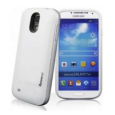 Power Suit High Capacity Juice Pack Extended Battery for Samsung Galaxy S4 White